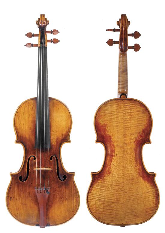 """Cremona, c 1725, """"Moller"""""""
