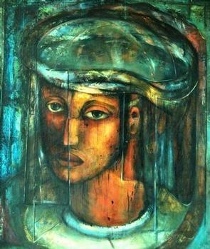 Alexis Preller, Christ Head