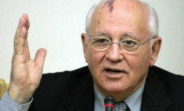 Nobel Peace laureate MIKHAIL GORBACHEV gained respect but lost an empire