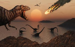 Evidence that dinosaurs were in decline 40 million years before the asteroid hit